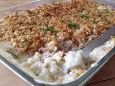 Har du laget en raus porsjon med denne deilige blomkålsuppa, kan du enkelt lage en lettvint fiske...