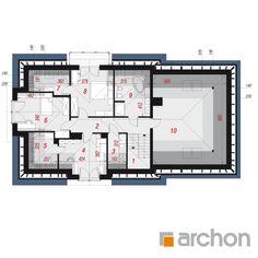 Dom w śliwach House Design Photos, Modern House Design, Design Case, Floor Plans, Hijab Fashion, Houses, Home Projects, Modern Home Design, Modern Houses