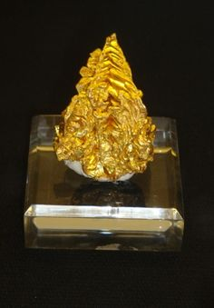 Native Gold - Grit Mine, near Spanish Dry Diggings, El Dorado County, California, USA