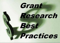 Best Practices For Grant Research from FundraiserHelp.com - There's a right way to do grant research and a wrong way when trying to find grant funding for your non-profit. These best practices for grant research will keep you on track and help you avoid wasting time & energy applying for the wrong grants.