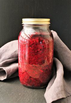 It's finally here! A probiotic-rich, fermented salad you can easily make in your very own kitchen! This Beet and Red Cabbage Sauerkraut boasts the good-for-you bacteria that we all want in (but are usually missing from) our diet. And I'm so excited to finally be sharing a friendly, approachable, and