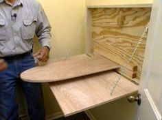 How To Build An Ironing-board Cabinet
