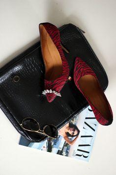 Isabel Marant Gatsy Zebra Shoes