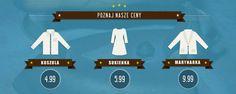 Prasowanie koszuli cennik #prasowaniekoszulwarszawa #prasowaniewarszawa #prasowalnia www.prasowalnia.pl