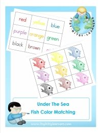 Under the Sea Printables and Activities from Itsy Bitsy Learners