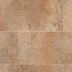 Entryway Tile Floor, Interior Stair Railing, Stone Look Tile, Parts Of Stairs, Polished Porcelain Tiles, Brown Kitchens, Kitchen Flooring, Kitchen Tiles, Tile Grout