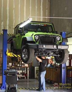 Finishing the suspension   http://www.jeep4x4center.com/jeep-wrangler-giveaway/