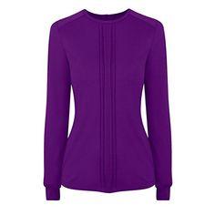 (ホットスカッシュ) HotSquash レディース トップス カジュアルシャツ HotSquash Pleat Front unique Thinheat Top 並行輸入品  新品【取り寄せ商品のため、お届けまでに2週間前後かかります。】 表示サイズ表はすべて【参考サイズ】です。ご不明点はお問合せ下さい。 カラー:Purple
