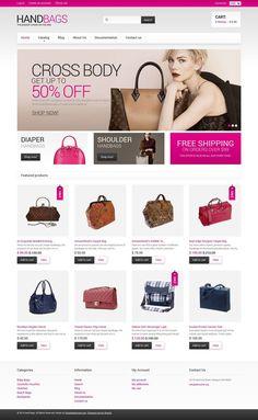 18+ Beautiful Ladies Fashion, Clothing & Accessories Shopify Themes - Handbag Shop