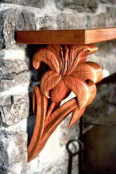 Техноальянс ЭКО: ПОЛКИ : ПОЛКИ  Название: Полка резная деревянная Цветок №252 Размер:  любой Наличие: под заказ Описание: Материал: Дуб...