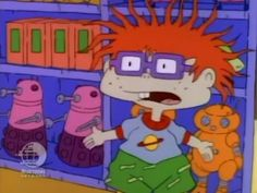 THERE WERE DALEKS ON RUGRATS! Season 2, Episode... | You Otter Know