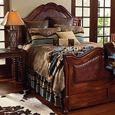 Love the look of this bed!