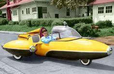 "danismm: ""  Harp's Jetmobile 1952 """