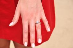 Miss World is engaged. Miss World 2014, Oval Diamond, Dream Ring, Wedding Rings, Wedding Stuff, Most Beautiful, Engagement Rings, South Africa, Diamonds
