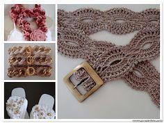 I love this belt! amagiadocroche.blogspot.cc