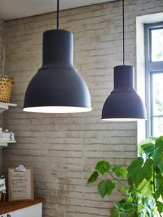Hektar hanging lamps in matte gray #lighting