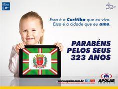 Parabéns Curitiba!