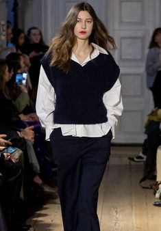 Four Scandi trends that will look just as good in 2021 as they do now, according to the coolest brands at Copenhagen Fashion Week. Streetwear Mode, Streetwear Fashion, Mode Outfits, Fashion Outfits, Womens Fashion, Vest Outfits, Fashion Weeks, Fashion Clothes, Fashion Trends