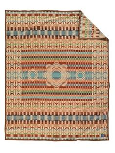Quill Basket Blanket - always wanted a Pendleton blanket. Now it seems like a good way to keep warm.