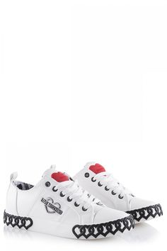 Love Moschino Damen Sneaker Weiss | SAILERstyle Moschino, Trends, Designer, Sneakers, Shoes, Fashion, Bags, Tennis, Moda