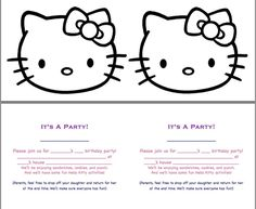 Defrump Me: Hello Kitty Party {FREE Printables!} and like OMG! get some yourself some pawtastic adorable cat apparel!