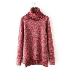 Thick Warm Pullover Retro Loose Sweater