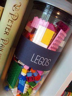 Free playroom labels