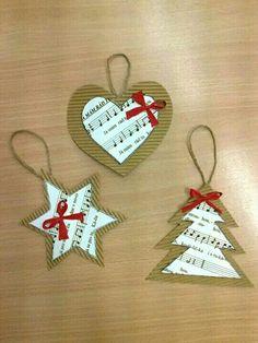 Class Arts DIY Ideas for Christmas [Rallye-Liens] Diy Christmas Cards, Christmas Crafts For Kids, Christmas Projects, Handmade Christmas, Holiday Crafts, Christmas Gifts, Farmhouse Christmas Ornaments, Christmas Tree Ornaments, Xmas Decorations