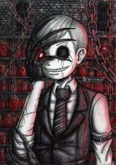 The Scraper Emo Art, Goth Art, Creepy Art, Scary, Gothic Kunst, Dibujos Dark, Tim Burton Style, Dark Drawings, Creepy Pictures