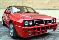 Lancia Delta Integrale - One of these drove past today. It looks very purposeful and sounds really menacing.