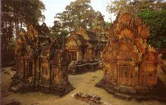 Temples near Siem Reap, Cambodia