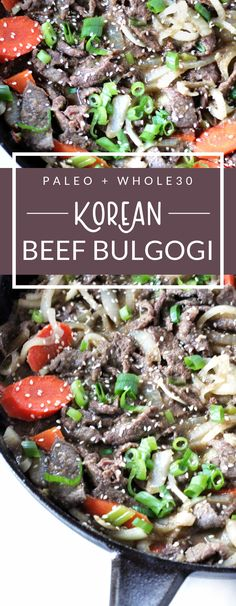 This Korean Beef Bulgogi comes from my friend Jean's cookbook, Korean Paleo: 80 Bold-Flavored, Gluten- and Grain-Free Recipes. This beef bulgogi is Whole30 compliant, paleo, and gluten-free. via @parsnipsblog