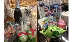 Wimbledon survival kit at the Food market on the 5th floor of Harvey Nichols, Knightsbridge in London