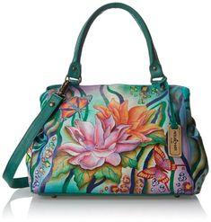 Anuschka 528 Shoulder Bag,Zebra Garden,One Size