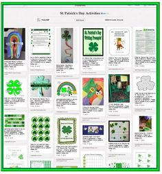 Pinterest Pinboard of the Week: St. Patrick's Day Themed Therapy Activities - pinned by @PediaStaff – Please Visit ht.ly/63sNtfor all our pediatric therapy pins