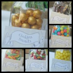 Harry Potter Party Candy Labels; etsy: SimplySweetParaties; http://pinterest.com/sosimplysweet/
