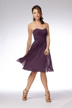 I'm about to be the maid of honor for my friend's wedding soo...lol I hope she picks this dress! :)