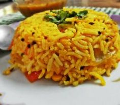 South Indian Tomato Rice Recipe by Sarika Chauhan | ifood.tv