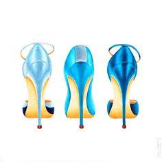 High heel painting - Google Search