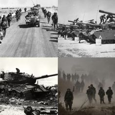 HISTORY - A long time ago, there were wars involving Israel. In 1948, there was an Arab Israeli War. The Arab nations, Egypt, Jordan, Lebanon, Syria, and Iraq  invaded. Another war was called The Six Day War in 1967. Israel defeated Egypt, Syria and Jordan in the span of 6 days. There was also a war called The Yom Kippur War. Egypt and Syria launched airstrikes in 1973 on Yom Kippur. Another war was when Israel Lebanon War, which was in 2006. This is a collage of the four wars.