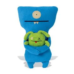 Attaches with Hold It Baby's custom clip! Wedgehead & Ox -- NEW -- from UglyDolls.com @uglydolls