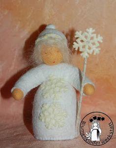 Blumenkinder-Werkstatt: Winter, Schneeflocke, Snowflake