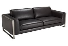 Bugatti Sofa, Dark Brown on OneKingsLane.com