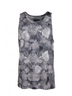 Blood Brother #Ice Vest in Grey. #menswear #style #print #bold #statement #shop # online #designer #trend #mens #graphic