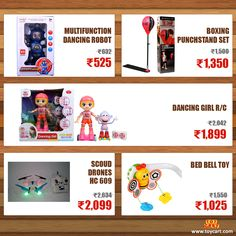 Want to buy best toys at big discounts? Here's the Deal!! Grab it before it runs out!!! Visit: www.toycart.com #toys #dealoftheday #onsale #discount #drones #games