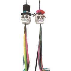 Day of the Dead Skull Hanging Decor