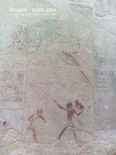 Relief from princess Idut tomb in Saqqara, Old Kingdom