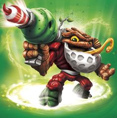 Jolly Bumble Blast - Visit us at SkylanderNutts.com for more information on Jolly Bumble Blast, retailers, reviews, unboxing and gameplay videos and more. Skylanders Swap Force Characters, Concept Art Books, Evil Minions, Elemental Powers, Queen, Fantasy World, Game Character, Tigger, Bowser