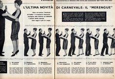 La Bande des Faineantes: Vintage Cross Stitc Pattern - Magazine - Grazia 1960