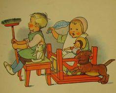 Old nursery rhymes - Bilderbuich